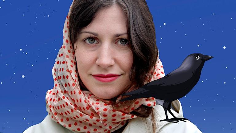 Nour El Refai spelar kajan Lindberg. Foto: Benjamin Thorén/Sveriges Radio