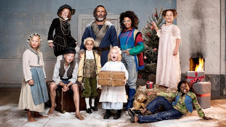 Tusen år till julafton, bild: SVT