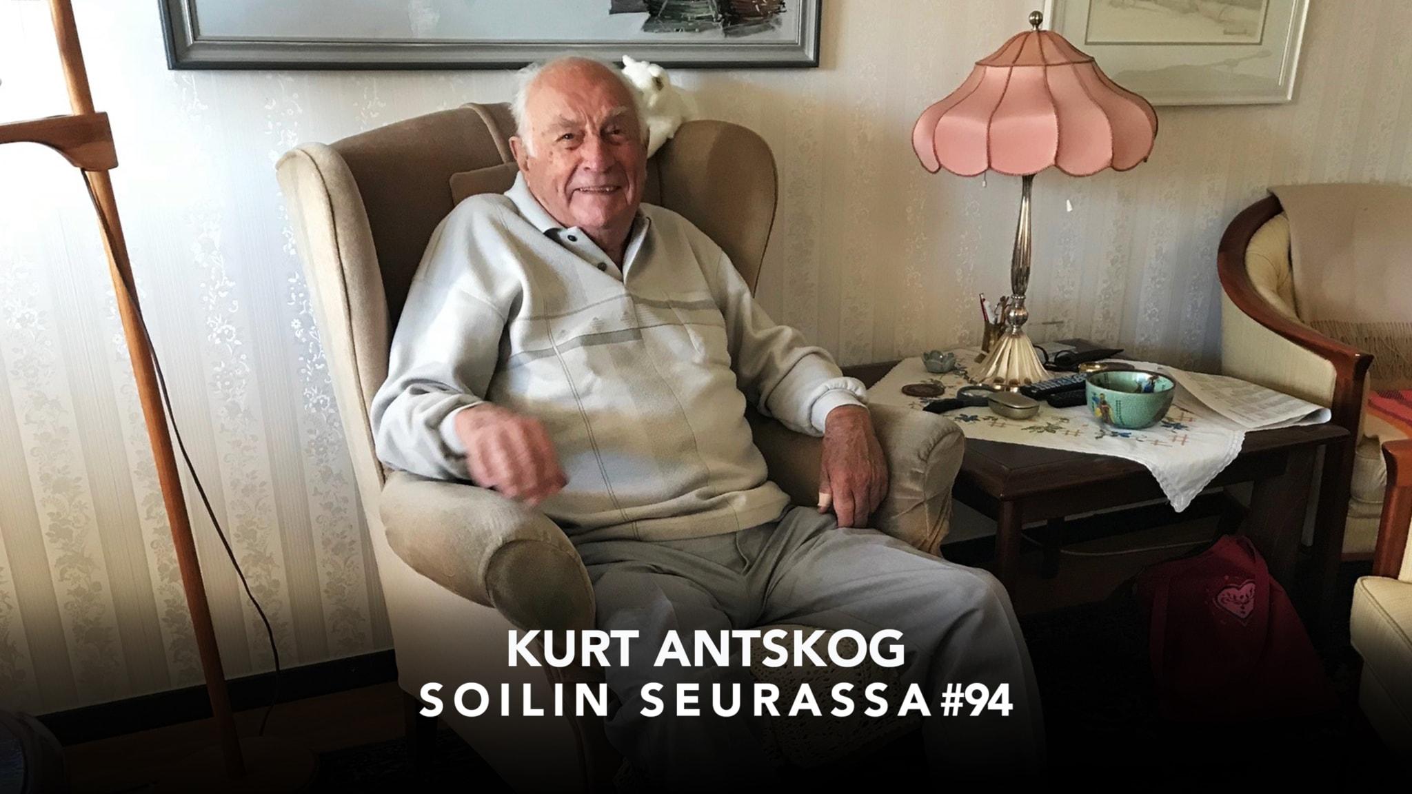 Suomen jatkosodan veteraani Kurt Antskog, 95: En tuntenut pelkoa