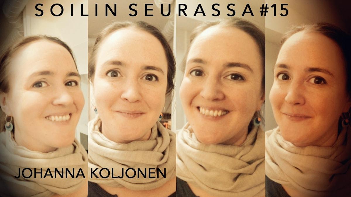 Soilin seurassa Johanna Koljonen. Kuva: Soili Huokuna / Sveriges Radio Sisuradio