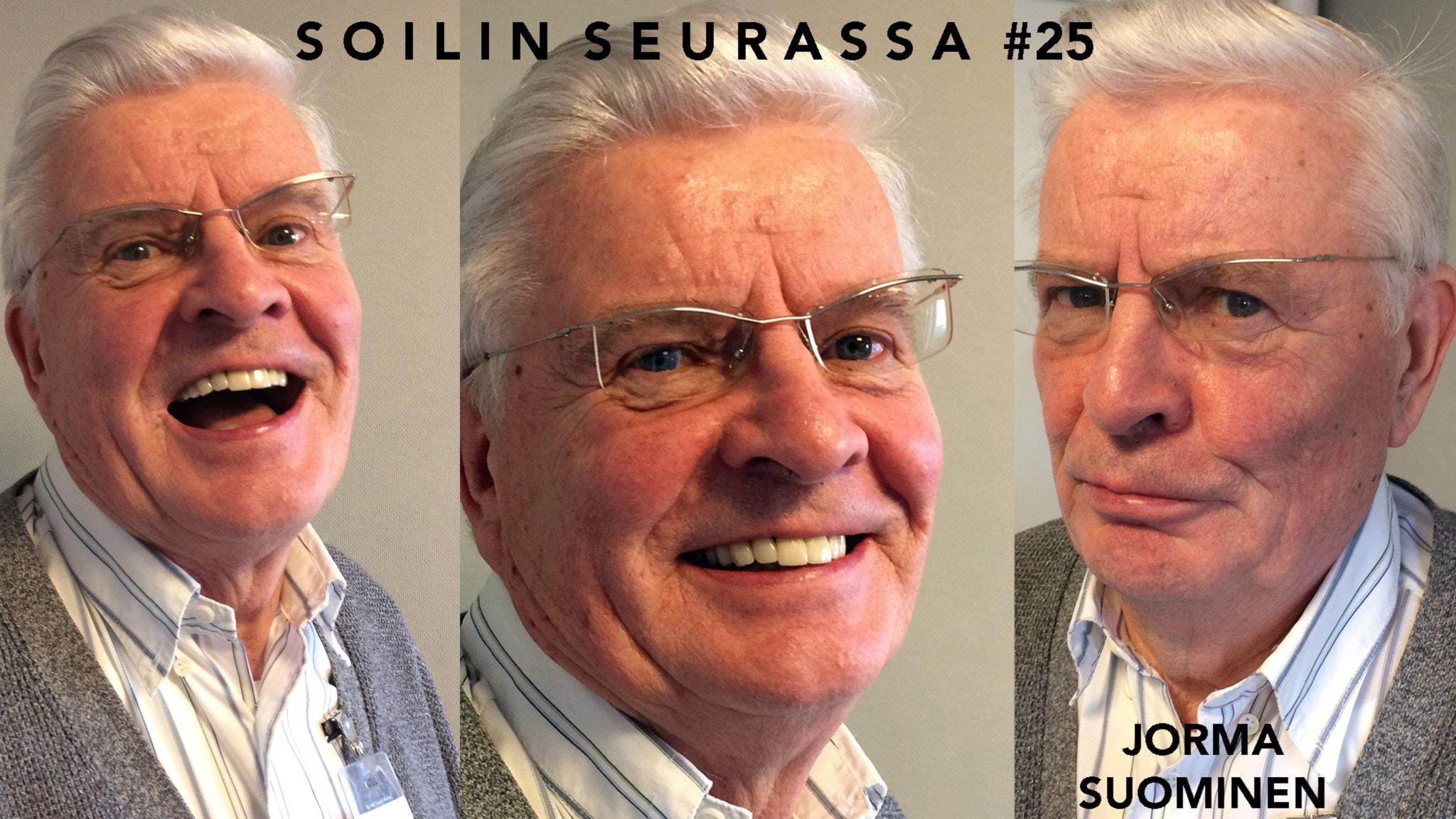 Soilin seurassa yrittäjä ja muusikko Jorma Suominen Tukholmasta kertoo elämänsä bluesin