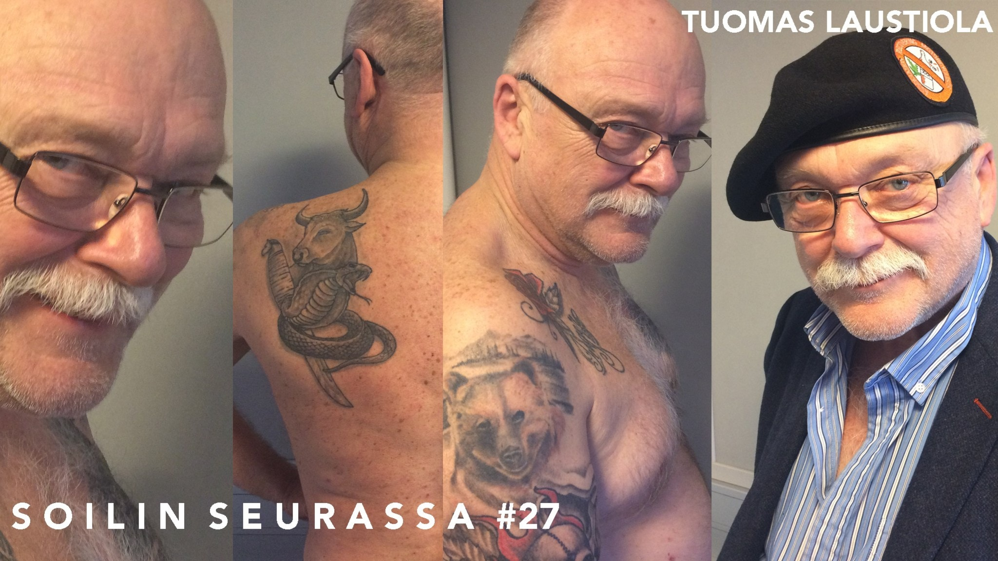 Soilin seurassa näyttelijä Tuomas Laustiola