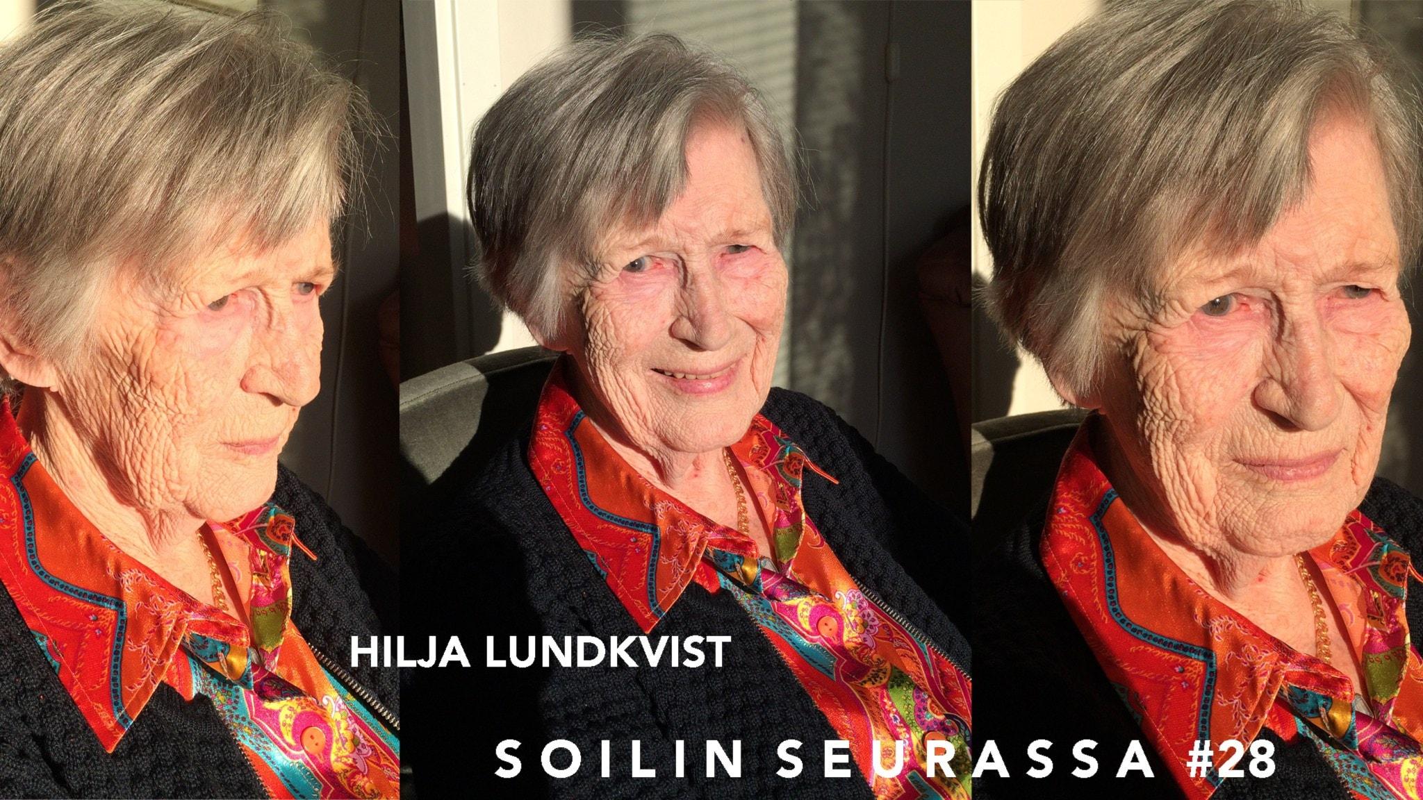 Urhean naisen uskomaton elämäntarina: Soilin seurassa Hilja Lundkvist, 90, Pajalasta