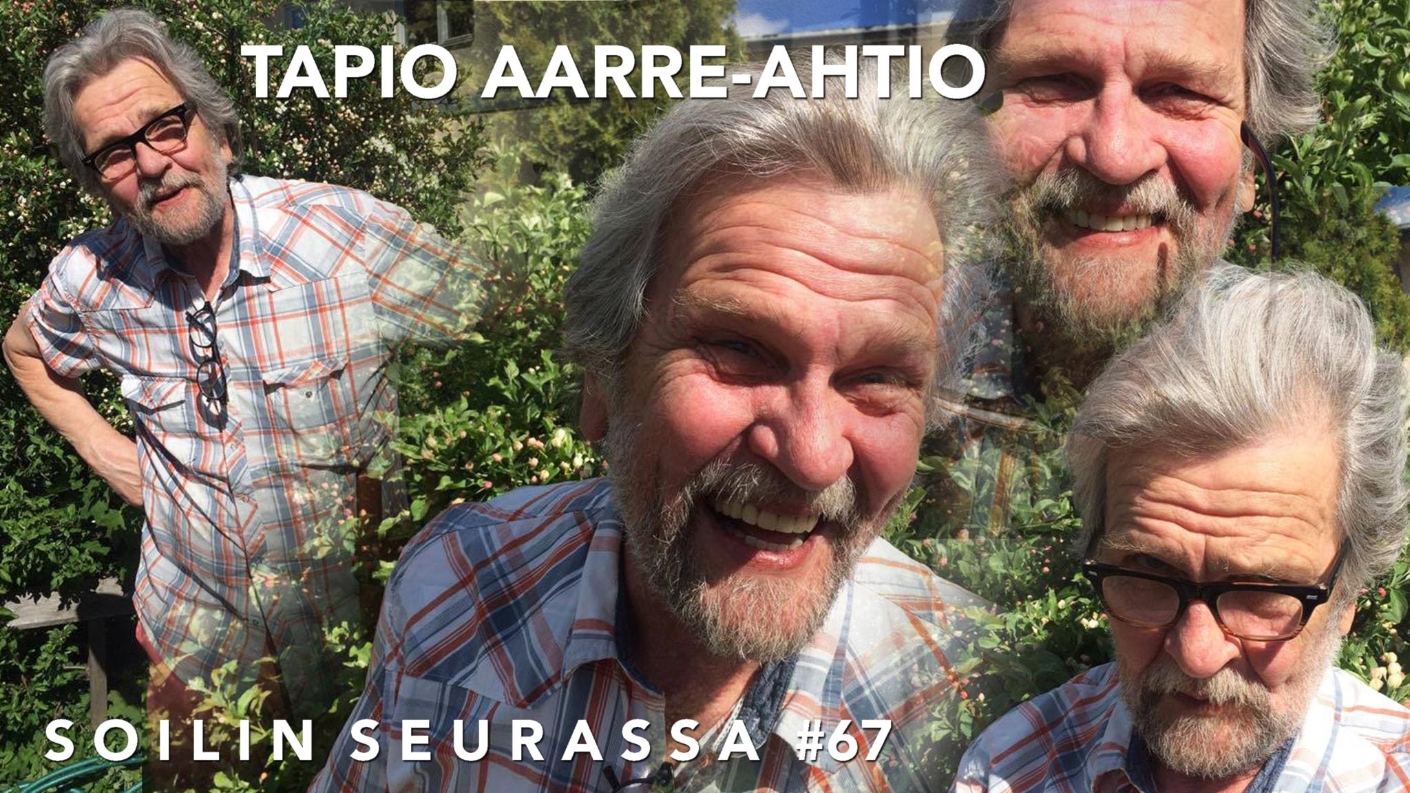 Estraditaiteilija Tapio Aarre-Ahtio: Olen vihainen nuori mies!