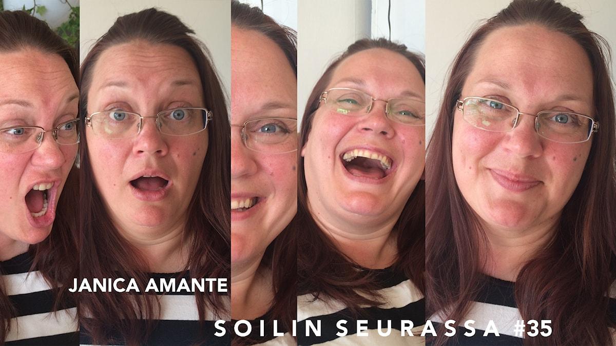 Janica Amante, Soilin seurassa #35