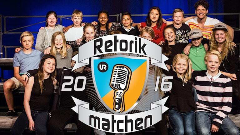 Retorikmatchen är ett program från UR.