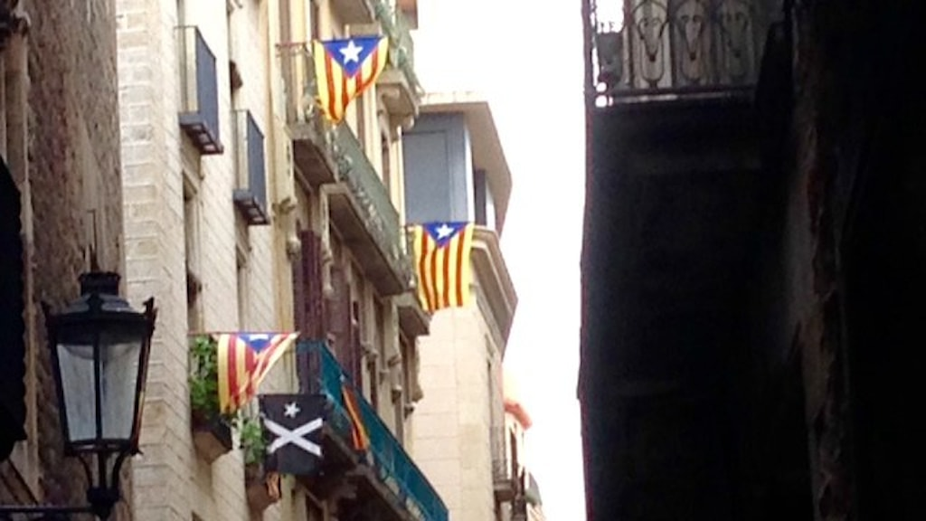 Katalonian lippuja