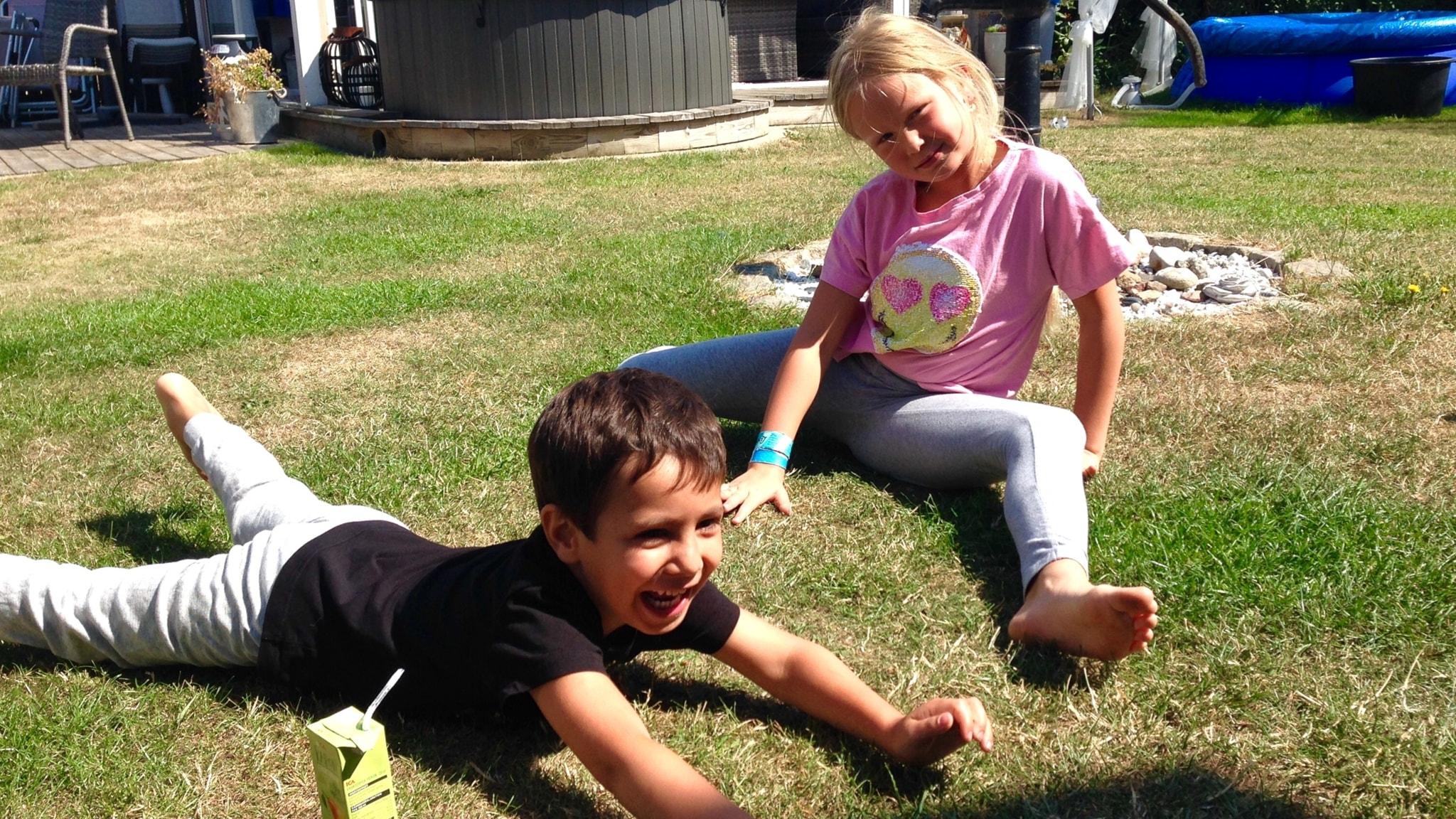 Tommi opettelee bosniaa, Birgitta meänkieltä lasten tähden.