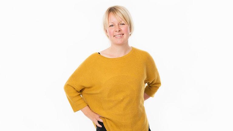 Lina Puranen. Foto: Mattias Ahlm/Sveriges Radio