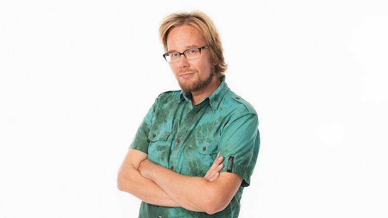 Erkki Kuronen. Foto: Mattias Ahlm / Sveriges Radio