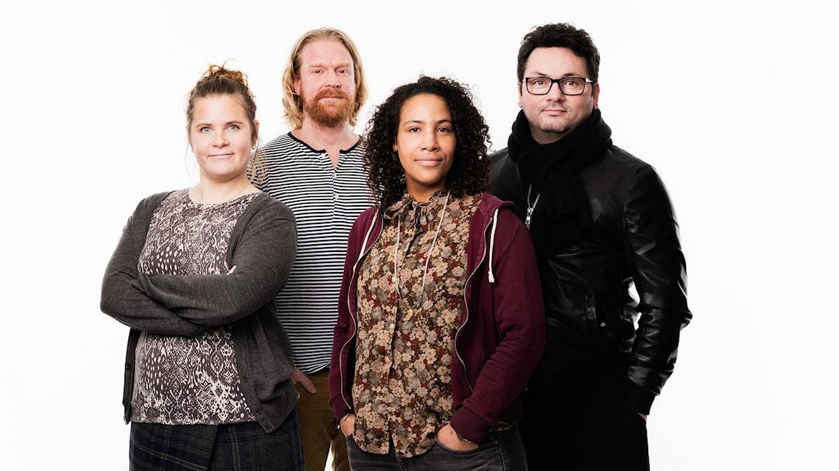 Kulttuurikeskustelu Koukku Salla Vartiainen, Adam Huuva, Majula Drammeh, Domino Kai