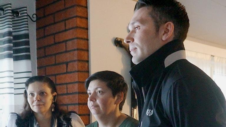 Katja Blomerus, Kipa Blomerus ja Daniel Savander