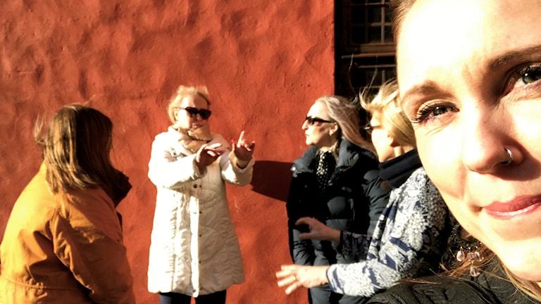 Anne Sseruwagi, Johanna Parikka-Altenstedt, Carita Vainikka, Merja Diaz ja Sonja Skibdahl.