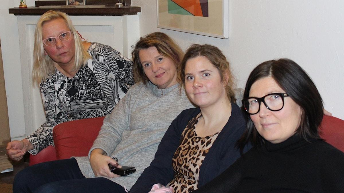 Mari Rantanen, Sarianna Kranz, Salla Vartiainen, Nina Kerola.