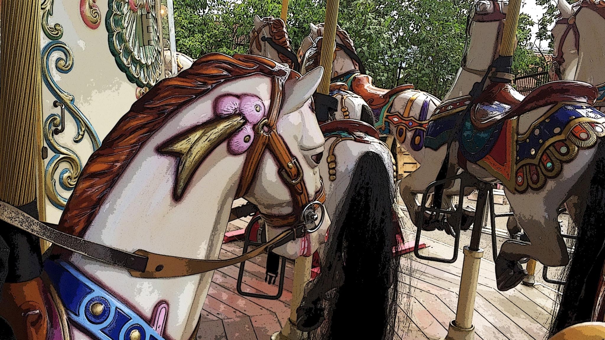 Karusellilla sirkukseen