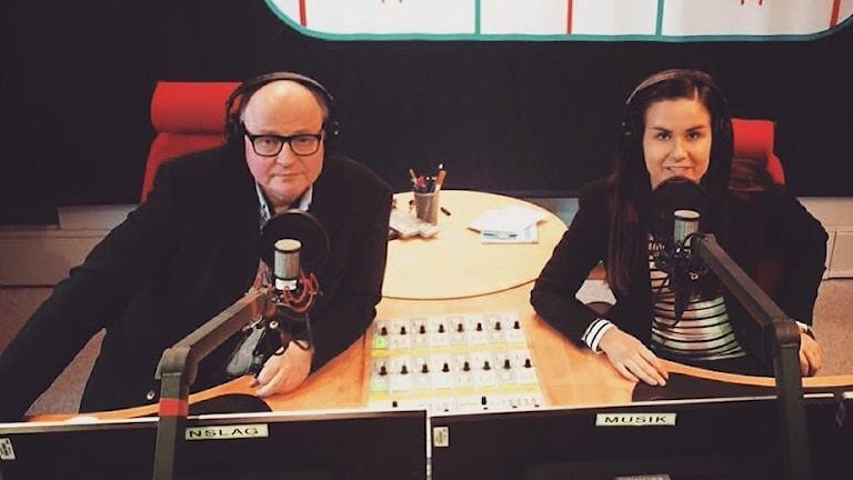 Jorma Ikäheimo ja Marika Pietilä Iltapäivän studiossa
