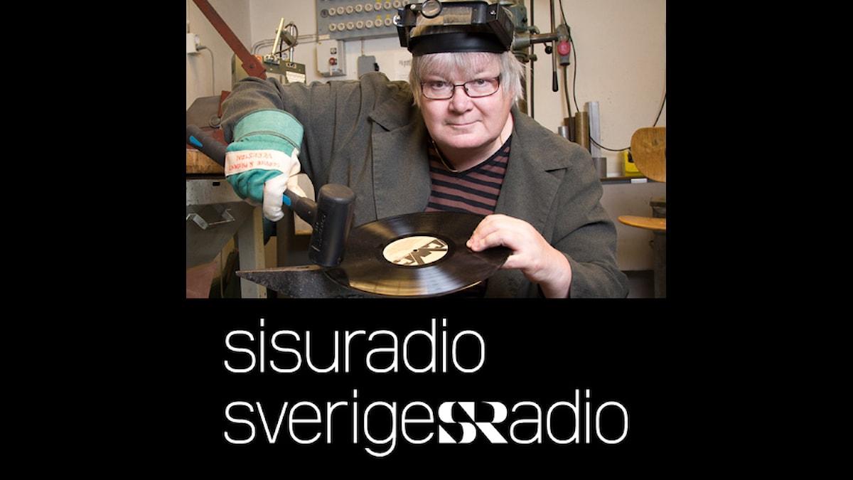 Levyseppä Pirjo Rajalakso. Foto: Mikael Grönberg, SR