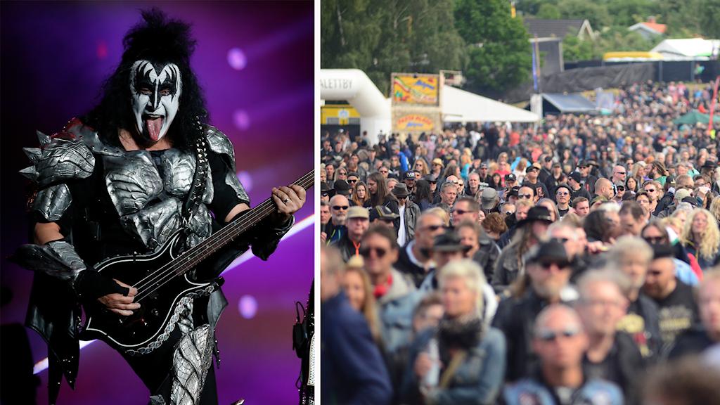 Sweden Rock Kiss publik