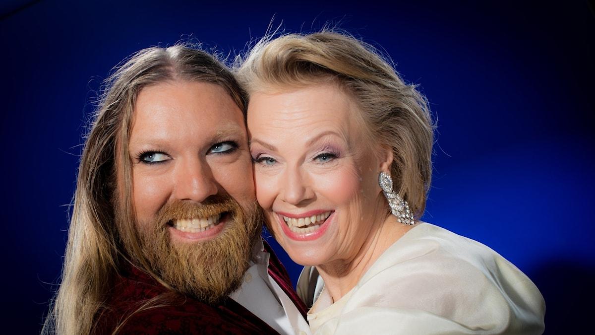 Rickard Söderberg och Arja Saijonmaa