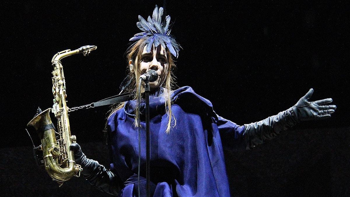 PJ Harvey från konserten på Way Out West i somras