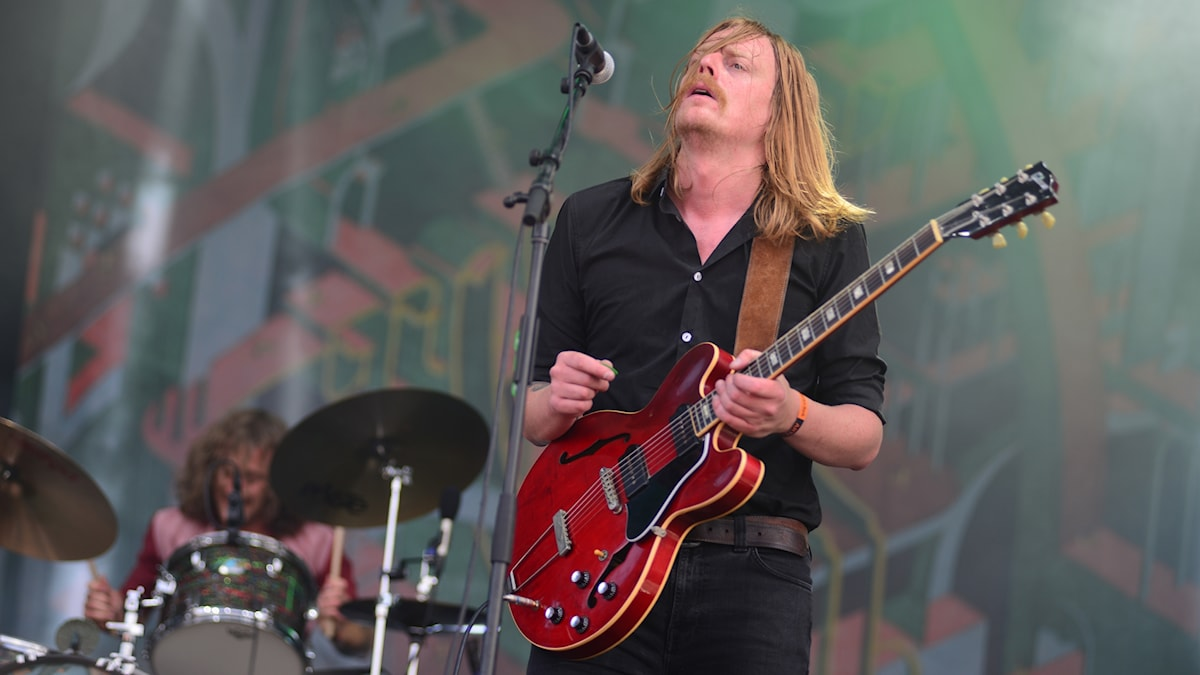 Joakim Nilsson är sångare och gitarrist i Graveyard