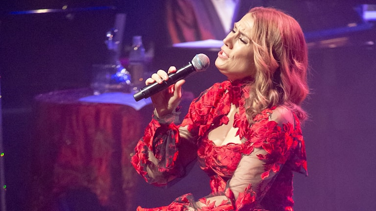 Jill Johnson sjunger julens sånger från Vara Konserthus
