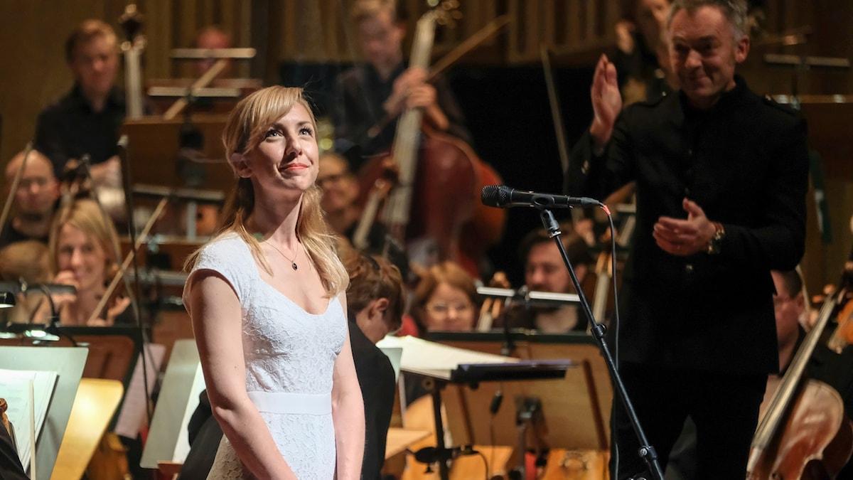 Sabina Zweiacker är solist i SCORE - Orchestral Game Music