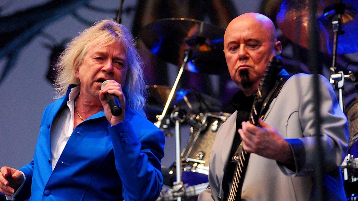 Magnum, från Sweden Rock 2014. Foto: Mikael Lindberg/SR