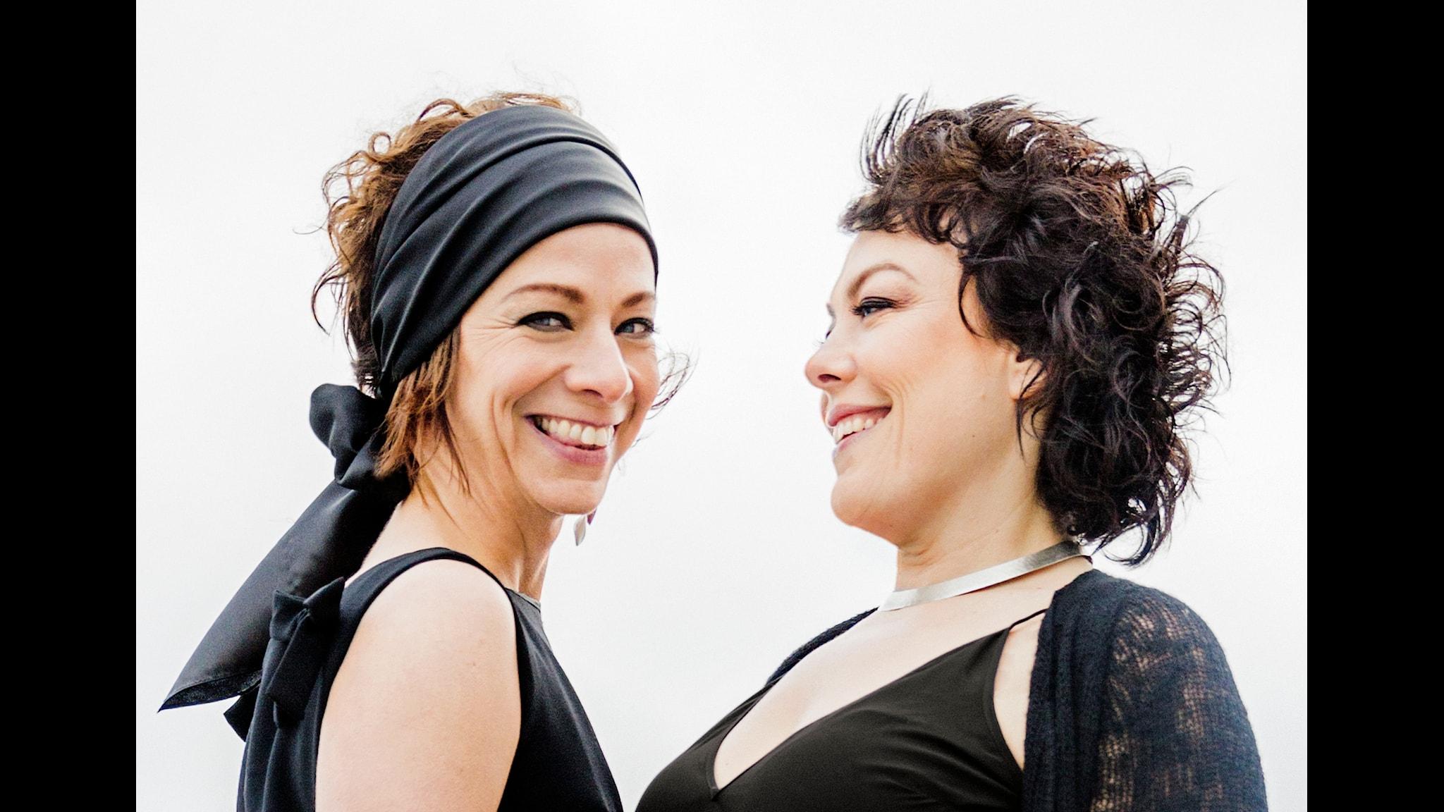 Lise & Gertrud Foto: Tina Axelsson