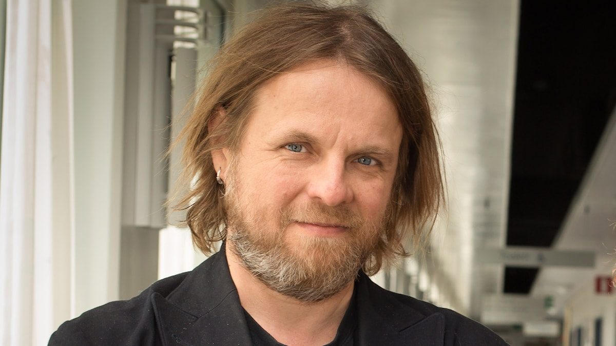 Andreas Matz, programledare. Foto Åsa Stöckel/Sveriges radio