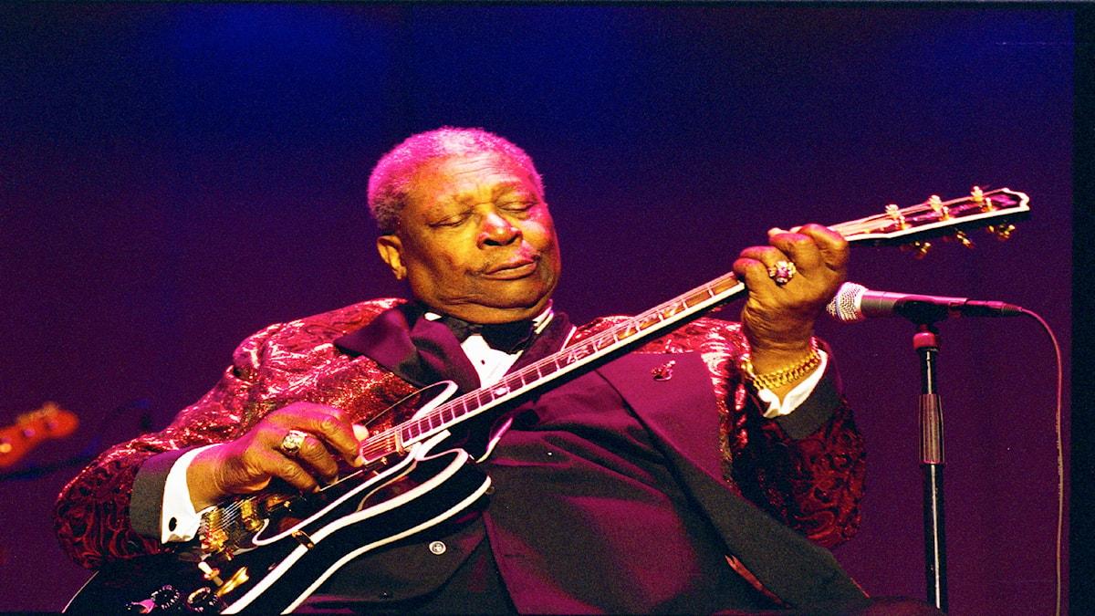 B.B. King King Of Blues Foto: Micke Grönberg/Sveriges Radio