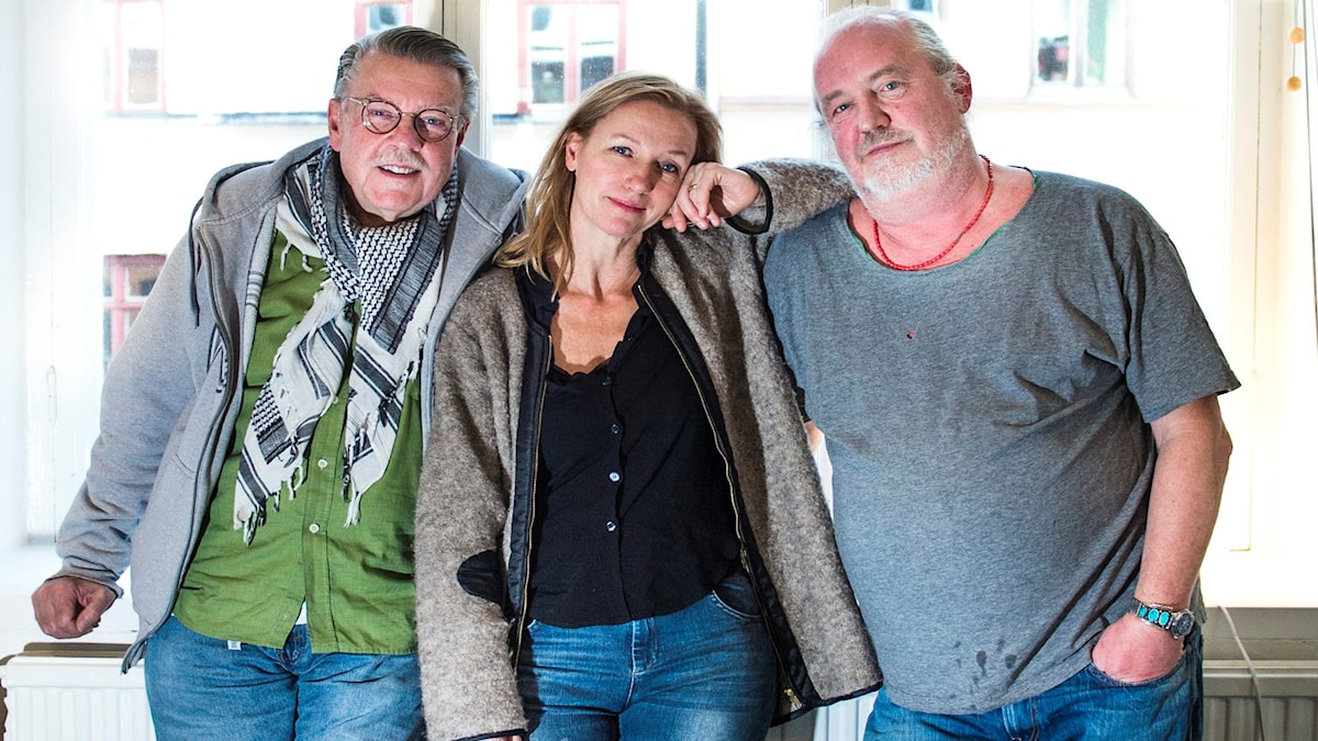 Wiehe, Ebba och Plura Foto: Nora Lorek/TT