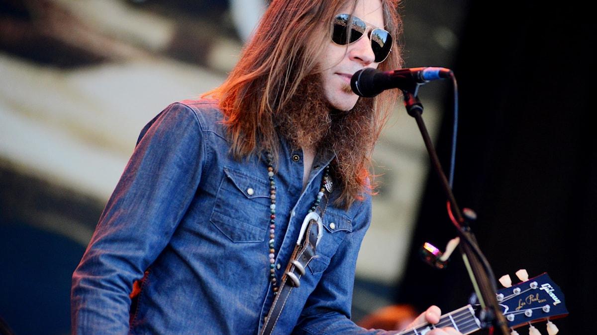 Charlie Starr är sångare och gitarrist i Blackberry Smoke.