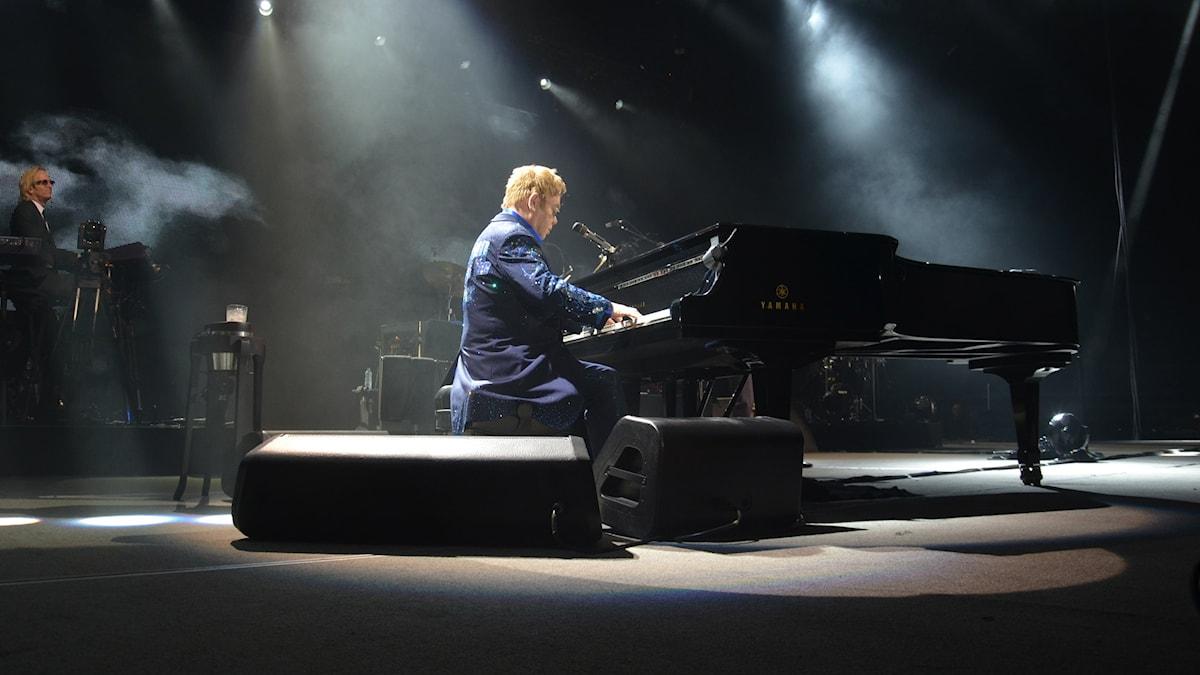 Elton John: Foto: Anders Jernquist/SverigesRadio
