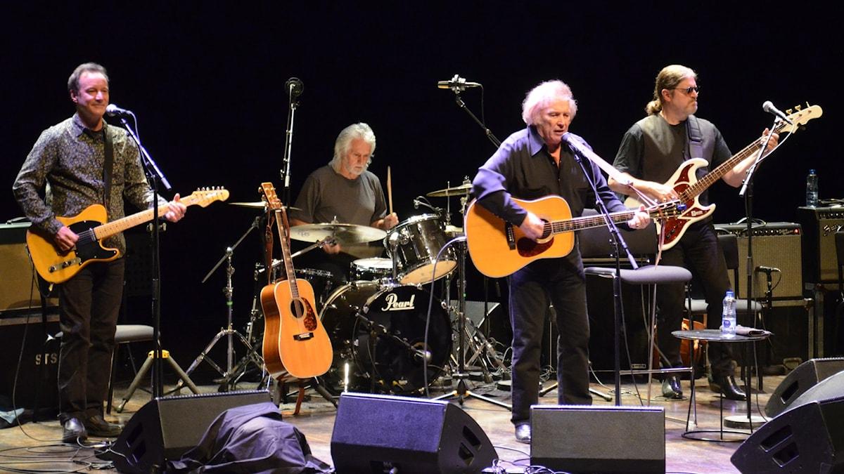 Don McLean med band från Uppsala Konsert & Kongress 2015.