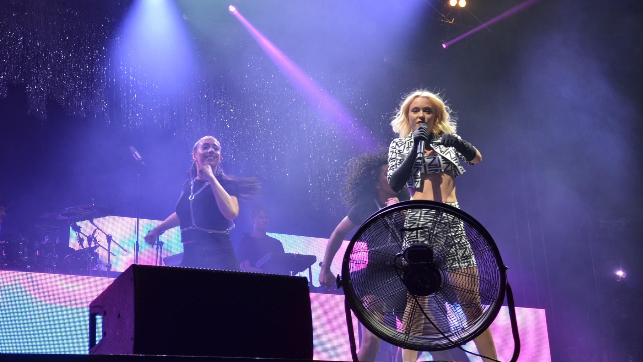 P4 Live med Zara Larsson från Queens of Pop 2018