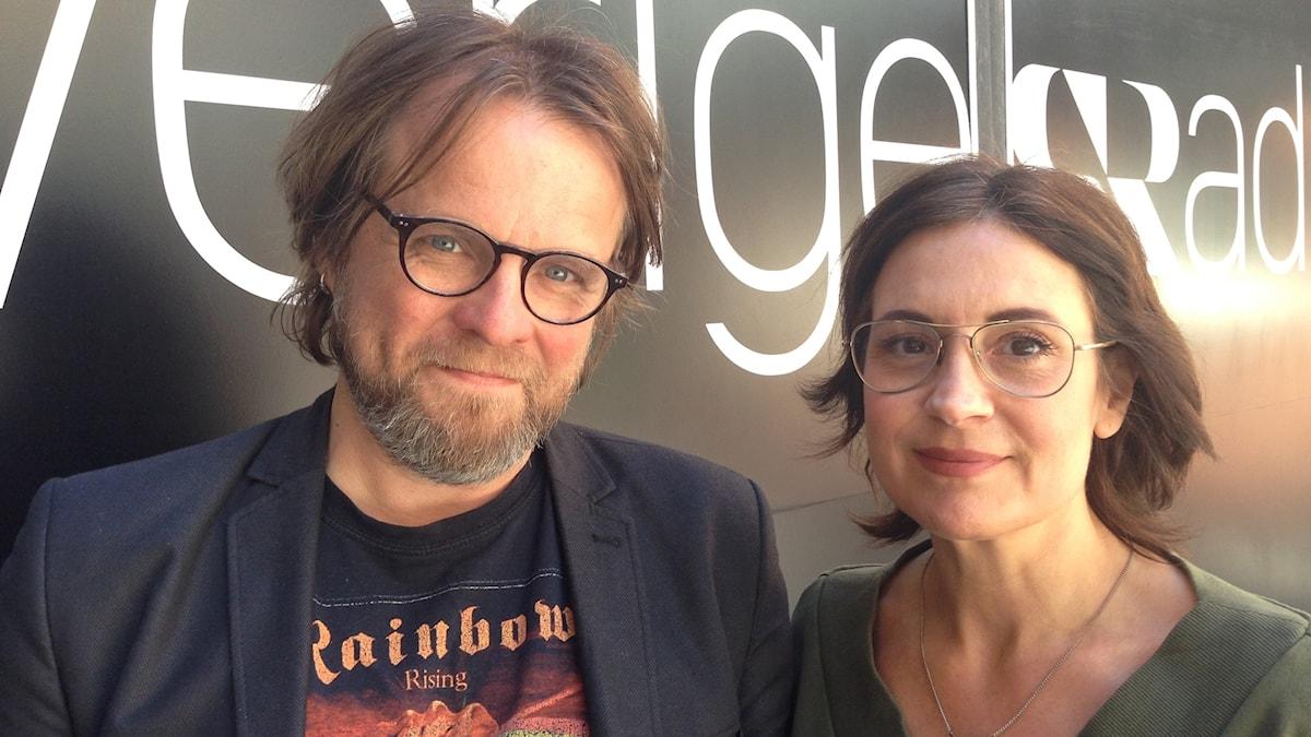 Andreas Matz och Susanna Dzamic