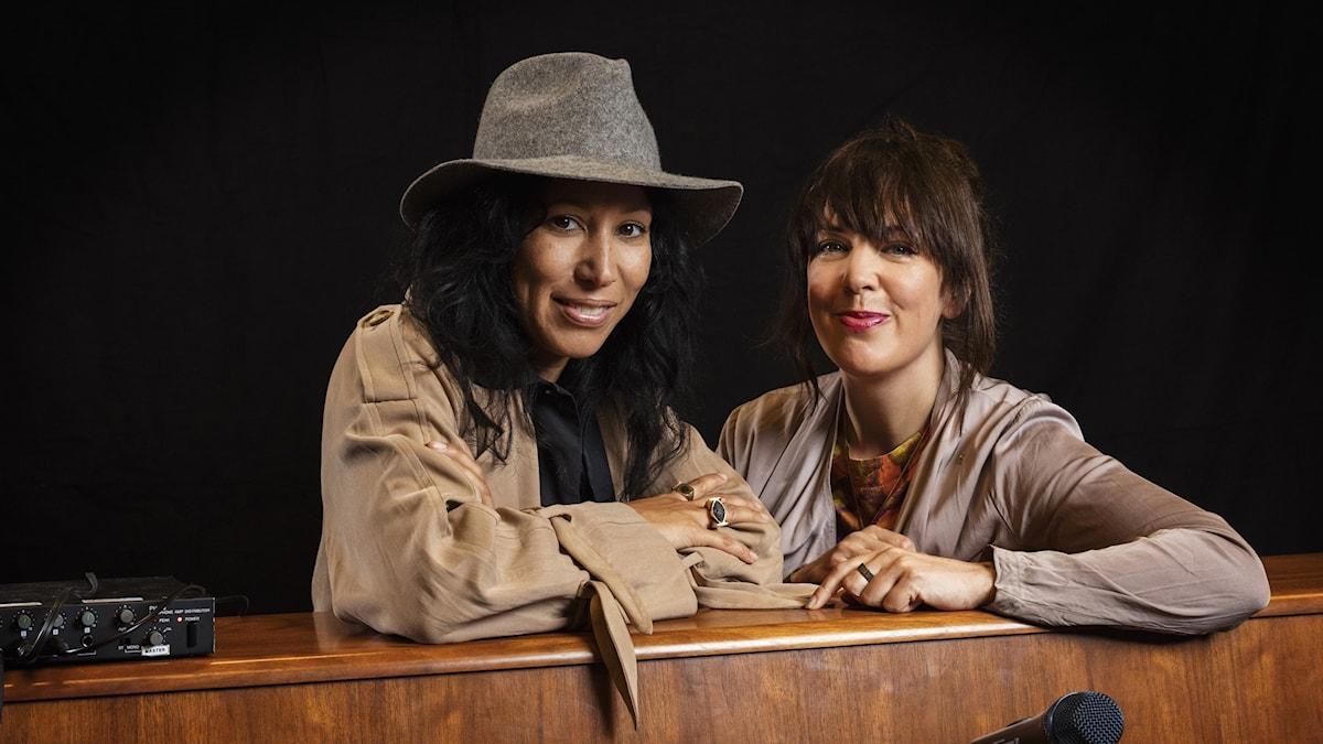 Titiyo och Marit Bergman