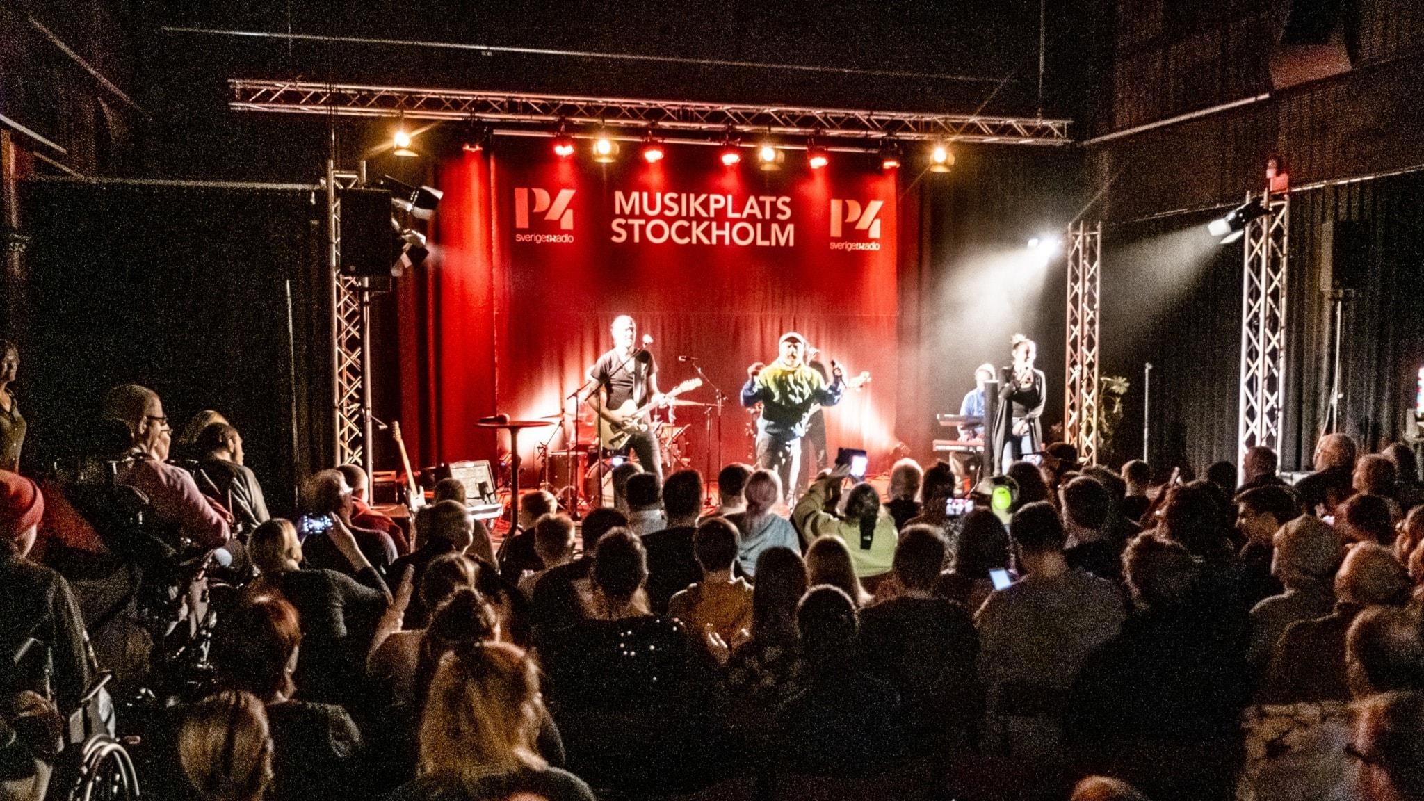 Många artister har uppträtt under våren på Musikplats Stockholm. Några av dem hör vi i kvällens P4 Live.