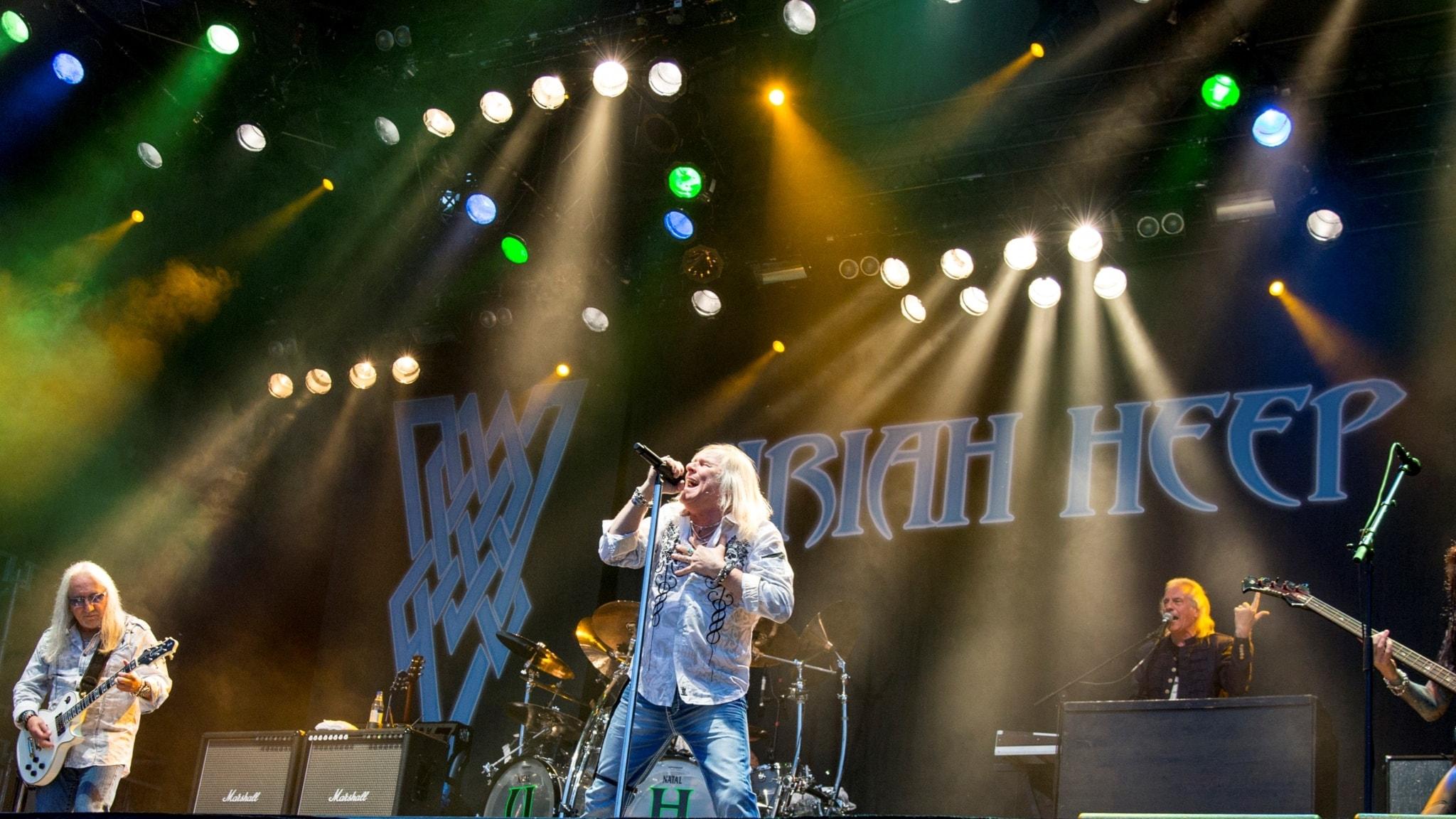 P4 Live med Uriah Heep från Sweden Rock 2014