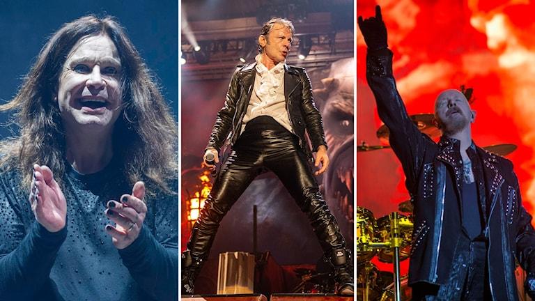 Ozzy Osbourne, Bruce Dickinson, Rob Halford