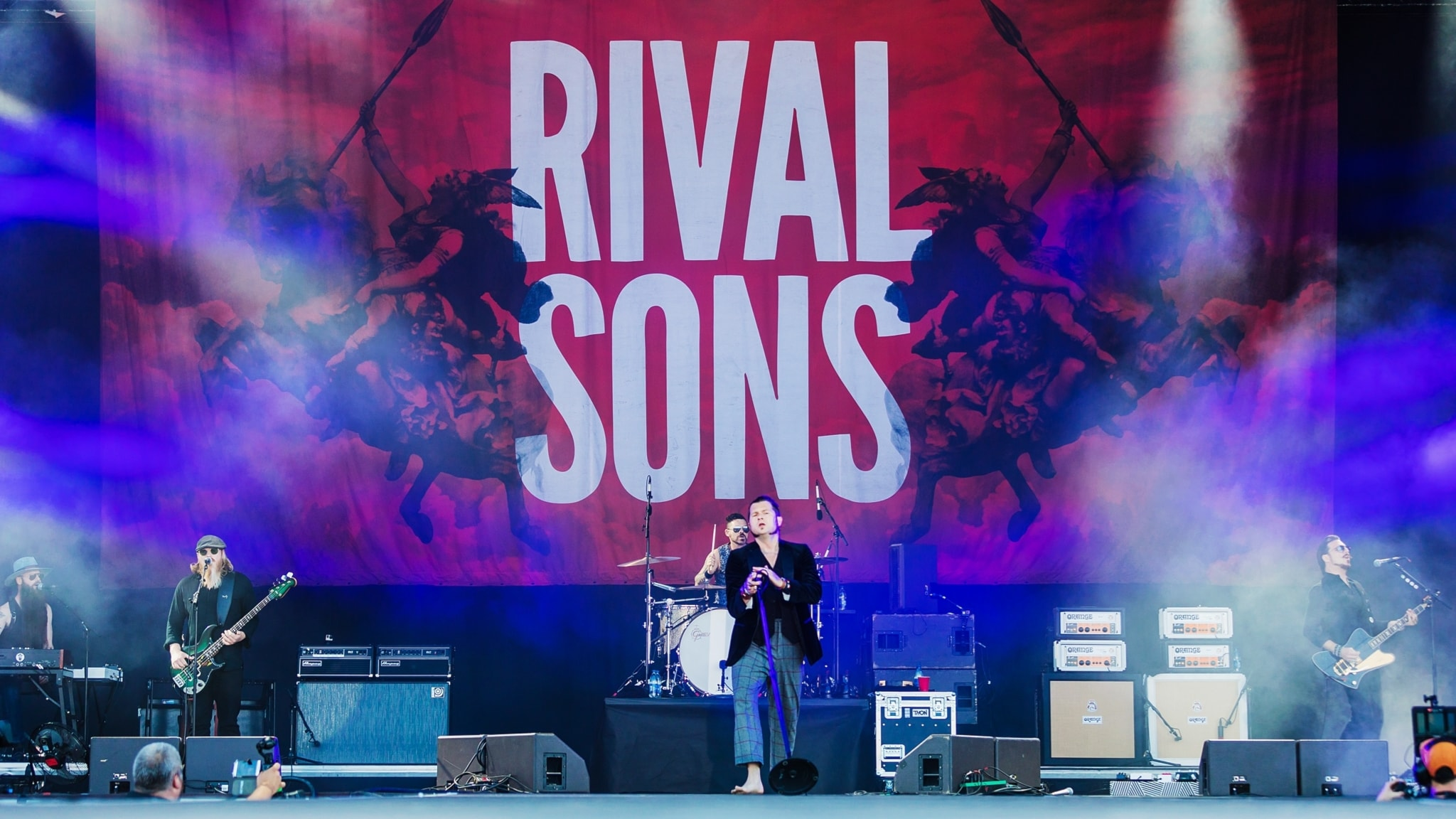 P4 Live med Rival Sons från Sweden Rock Festival 2017