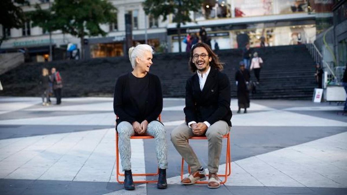 Banker och vänskap. foto: Johanna Arnström