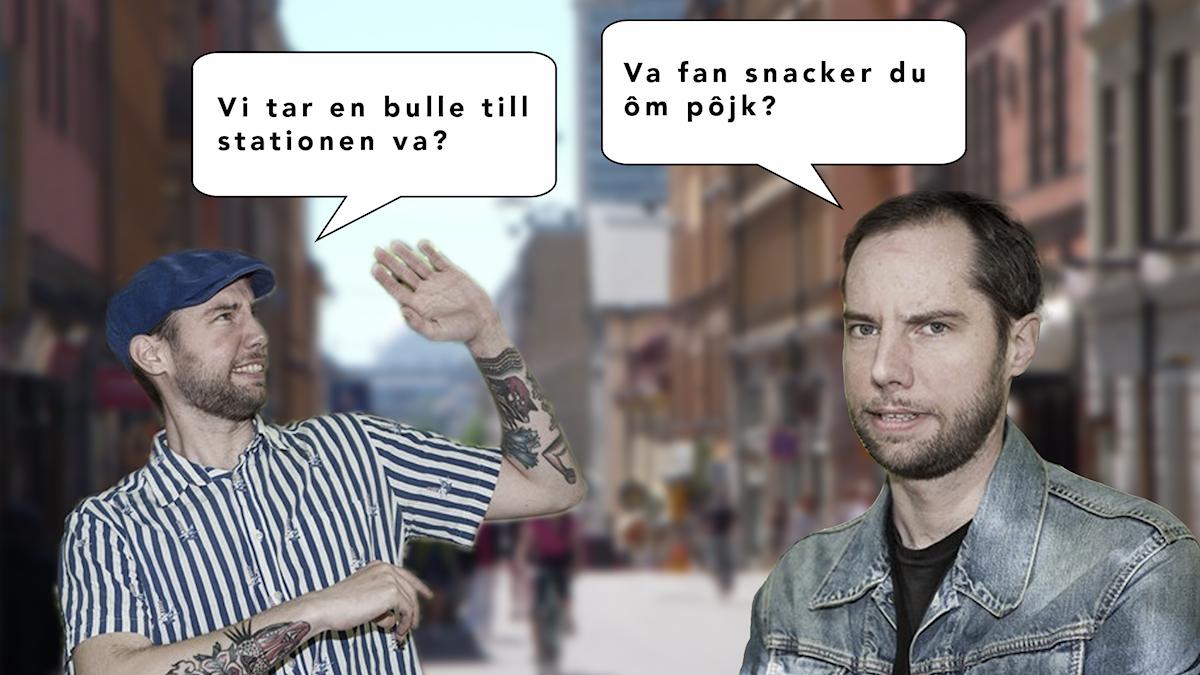 Rasmus pratar med sig själv