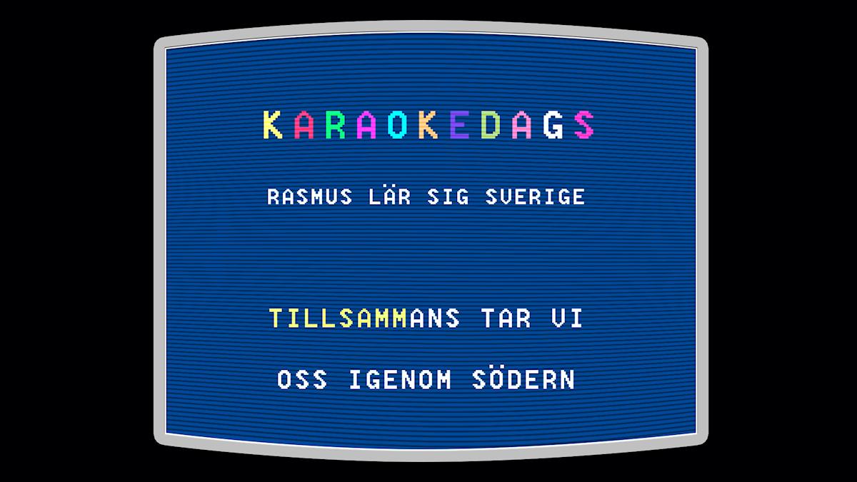 Karaokeskärm
