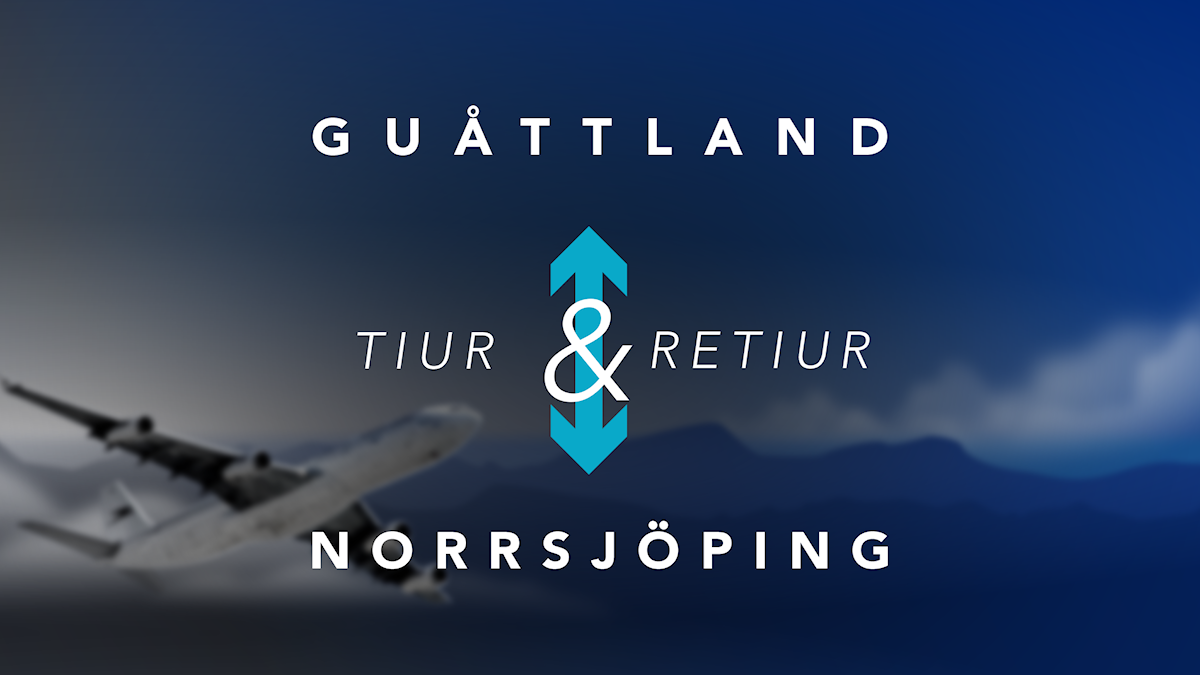 Guåttland Norrsjöping tur och retur