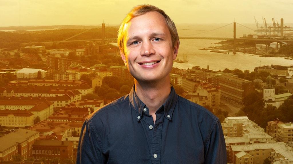 Bilden föreställer Adam Bergsten.