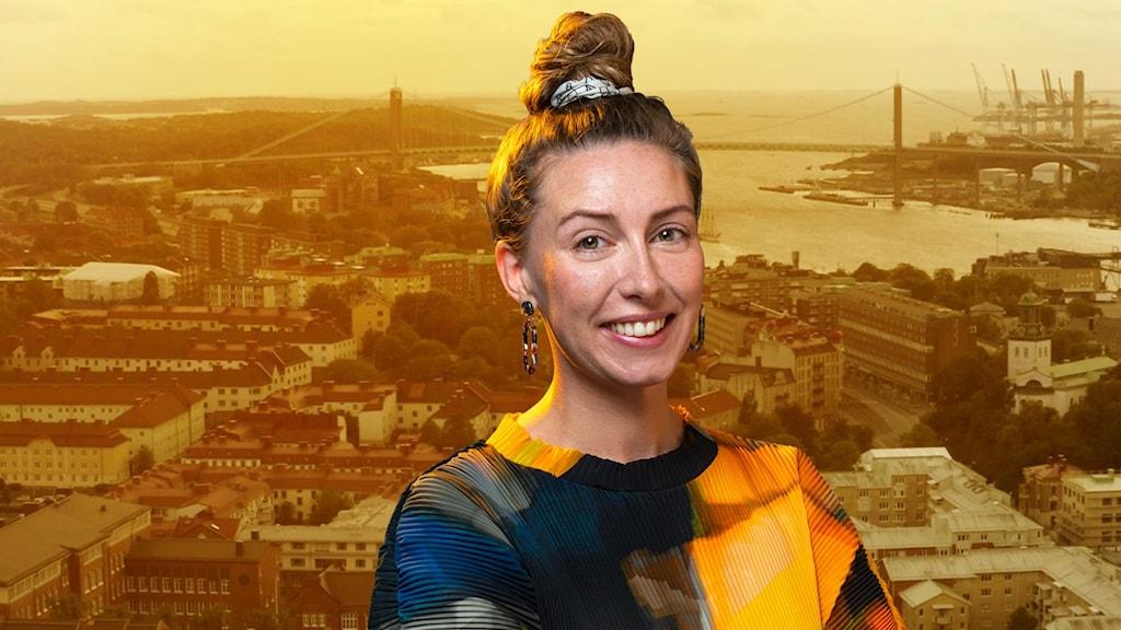 Bilden föreställer Hanna Rasmuson Hulmée.