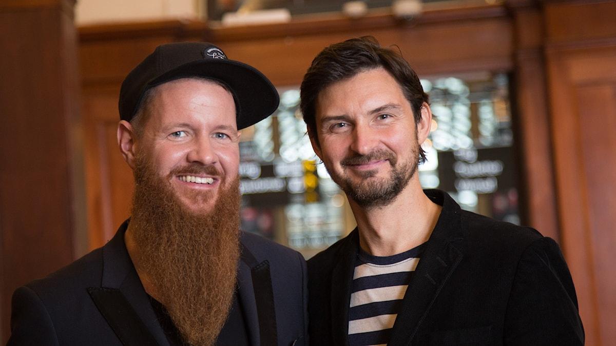 porträtt på Christer & Morgan Larsson