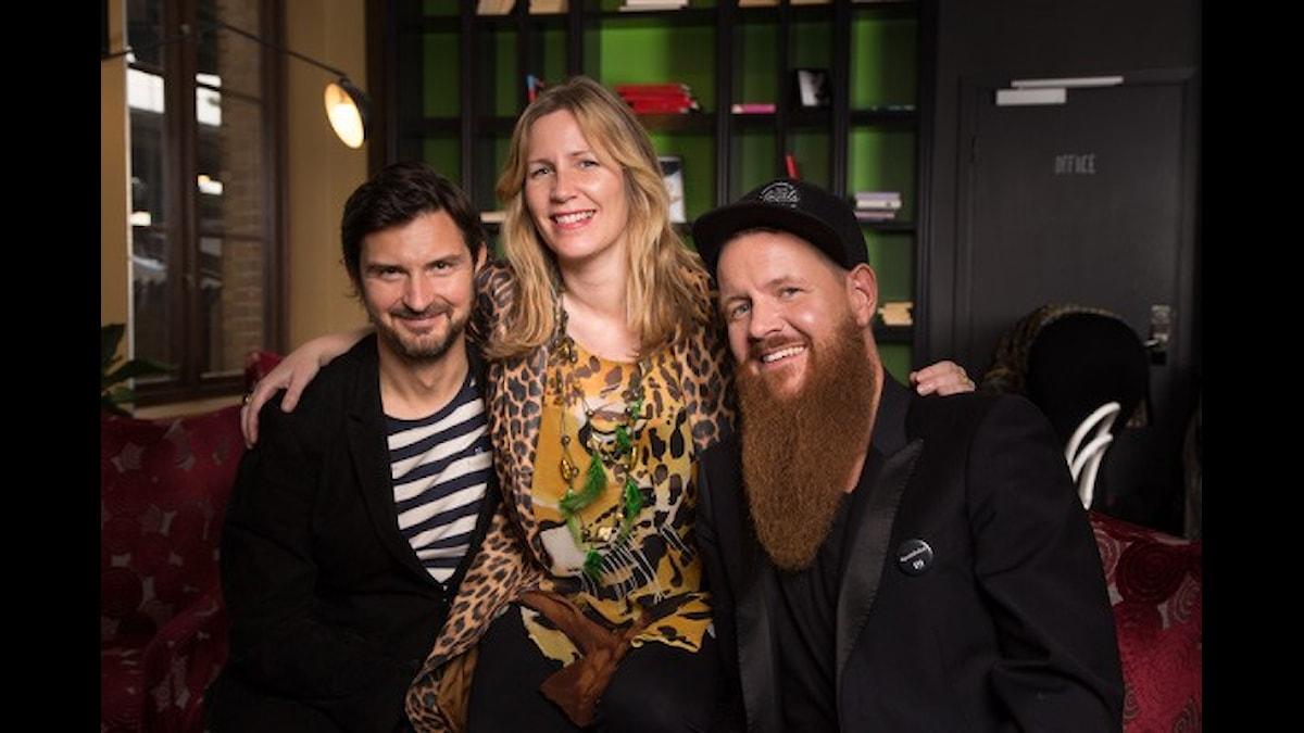 Morgan Larsson, Hanna Andersson & Christer Lundberg